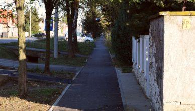 Izgrađena pješačka staza u glavnoj ulici u Ernestinovu